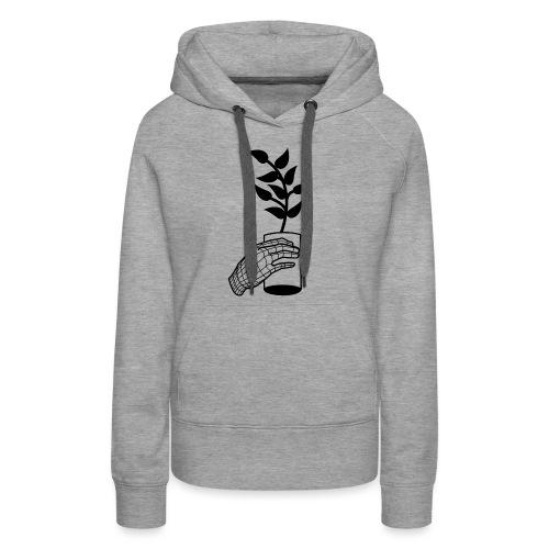 Plante - Sweat-shirt à capuche Premium pour femmes