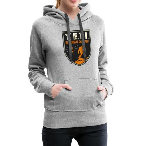 Blason Yeti Search Group - Sweat-shirt à capuche Premium pour femmes