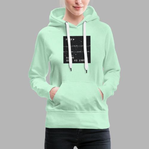 NX SURRXNDXR LOGO - Vrouwen Premium hoodie