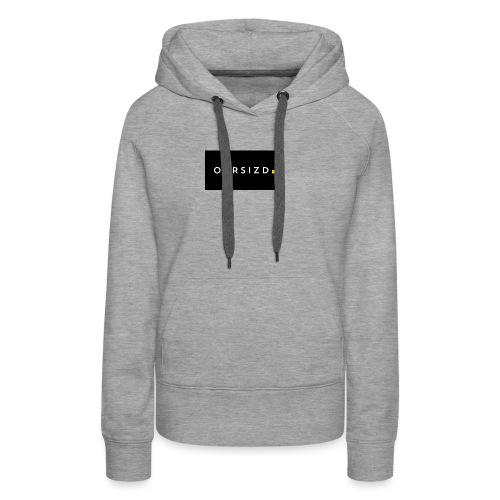 OVRSIZD logo - Women's Premium Hoodie