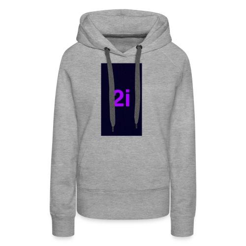 2i - Sweat-shirt à capuche Premium pour femmes