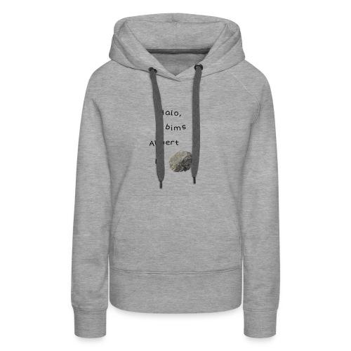 Albert Einstein - Frauen Premium Hoodie