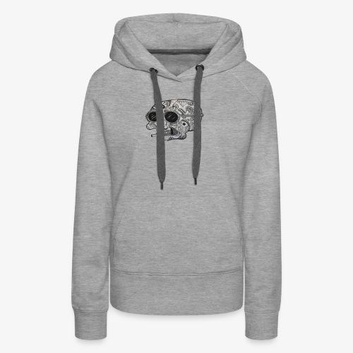 SKULLY - Frauen Premium Hoodie