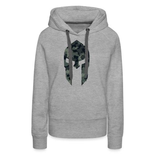 Sparta military pattern 1 - Frauen Premium Hoodie