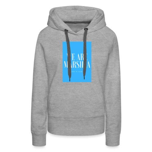 we are marsilia - Sweat-shirt à capuche Premium pour femmes