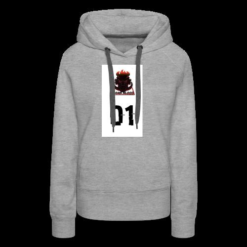 Boar blood 01 - Bluza damska Premium z kapturem