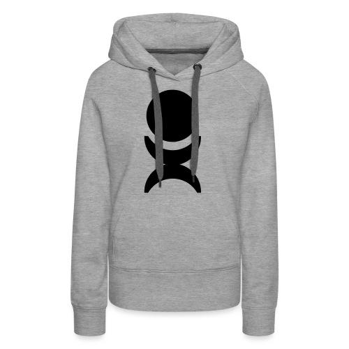U-Man Records - Sweat-shirt à capuche Premium pour femmes