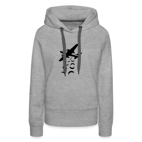 Bananas not bombs - Vrouwen Premium hoodie