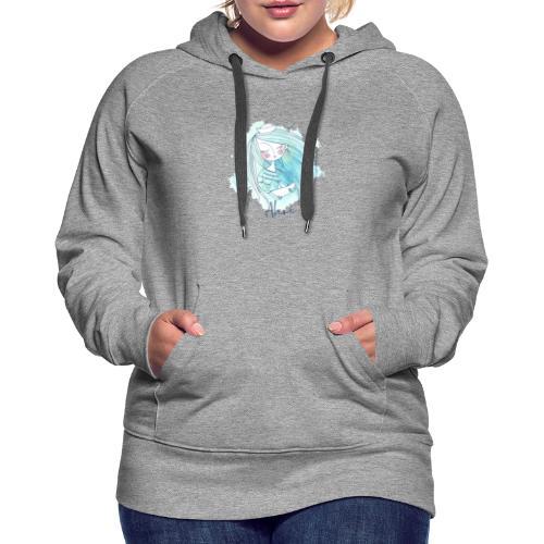Meermädchen Ahoi - Frauen Premium Hoodie