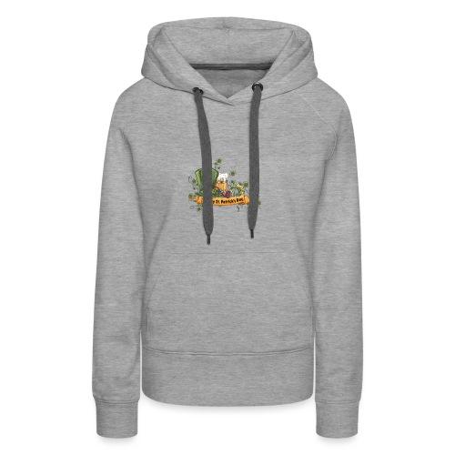 ST PATRICK BEER - Sweat-shirt à capuche Premium pour femmes