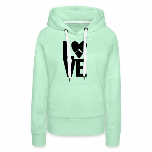 Mountain Love - Frauen Premium Hoodie