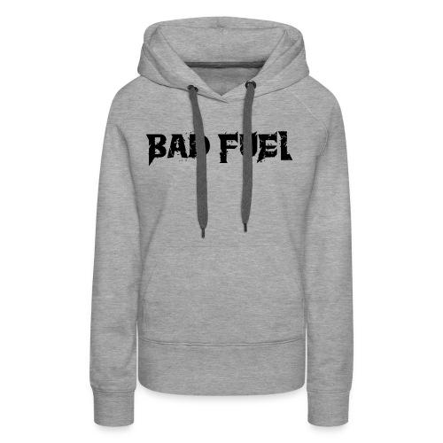 Bad Fuel logo - Women's Premium Hoodie