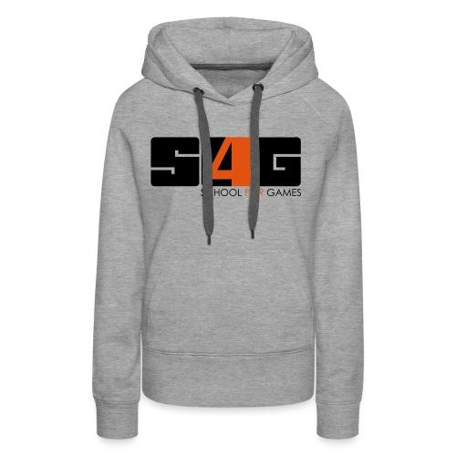 s4g logo v final - Frauen Premium Hoodie
