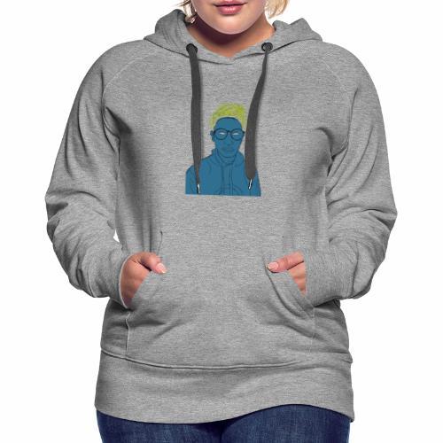 Adolescencia - Sudadera con capucha premium para mujer