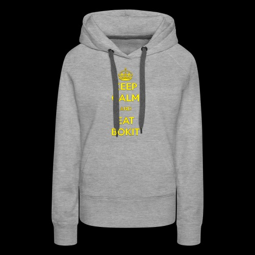 Bokit Keep Calm - Sweat-shirt à capuche Premium pour femmes