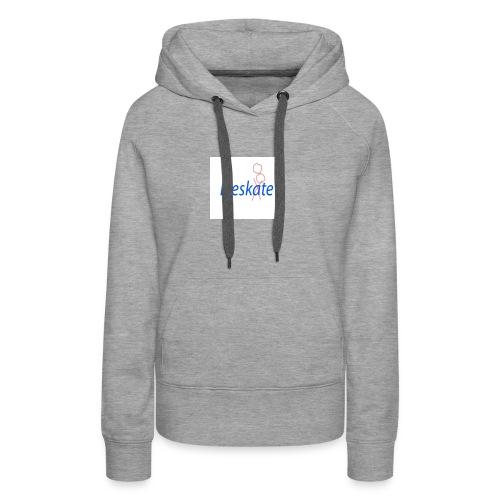 Eleskate - Sweat-shirt à capuche Premium pour femmes