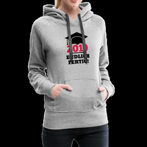 Doktorhut - Geschenk Schüler, Student, Doktorand - Frauen Premium Hoodie