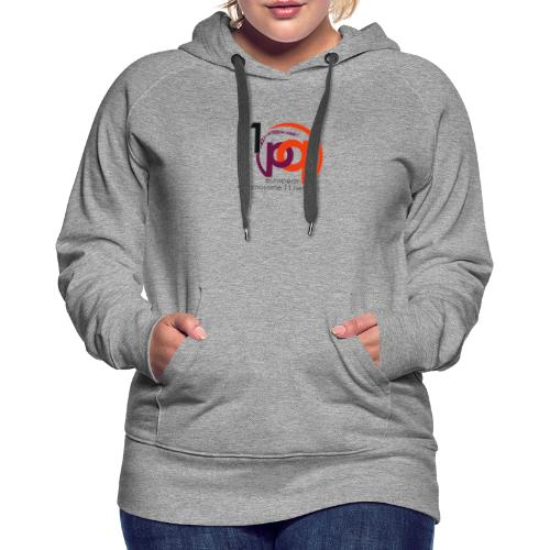 11q_logo_century - Frauen Premium Hoodie