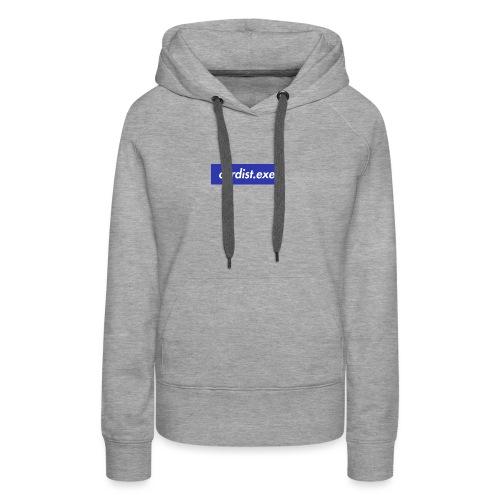 cardist.exe - Sweat-shirt à capuche Premium pour femmes