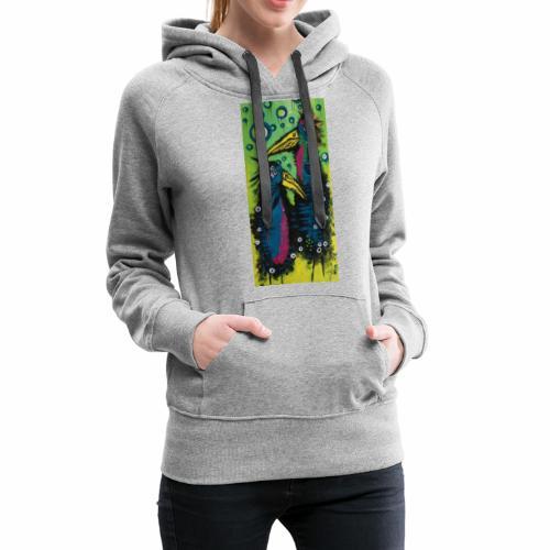 Two Birds - Dame Premium hættetrøje