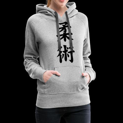 ju jitsu - Bluza damska Premium z kapturem