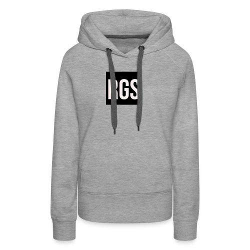 RGS_Profile_Logo - Women's Premium Hoodie