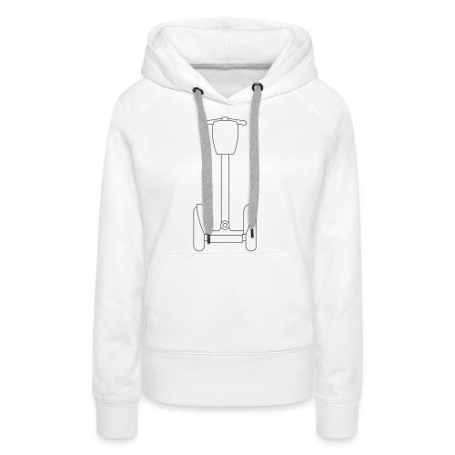 Segway i2 mit Tasche - Frauen Premium Hoodie