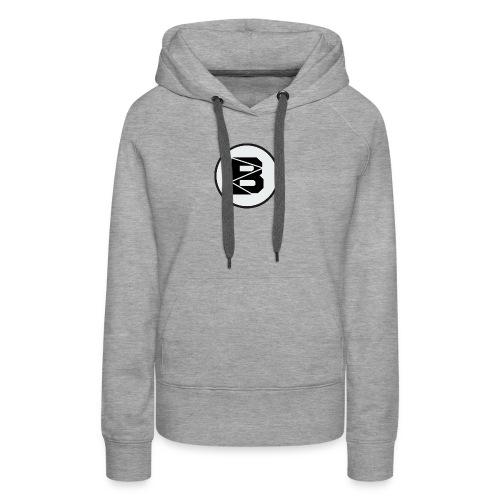 Hoodie mit B Logo - Frauen Premium Hoodie