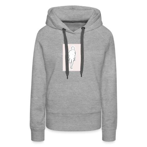 PINKrun - Sweat-shirt à capuche Premium pour femmes