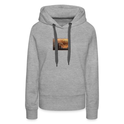 Citation - Sweat-shirt à capuche Premium pour femmes