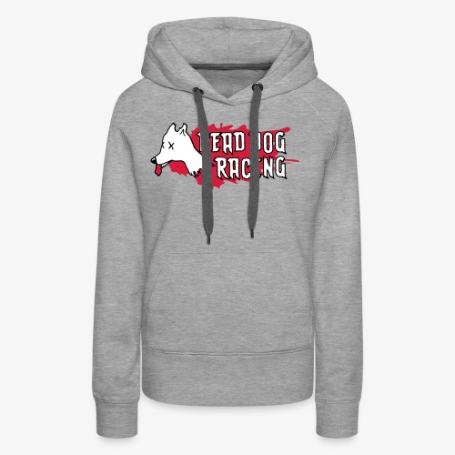 Dead dog racing logo - Women's Premium Hoodie