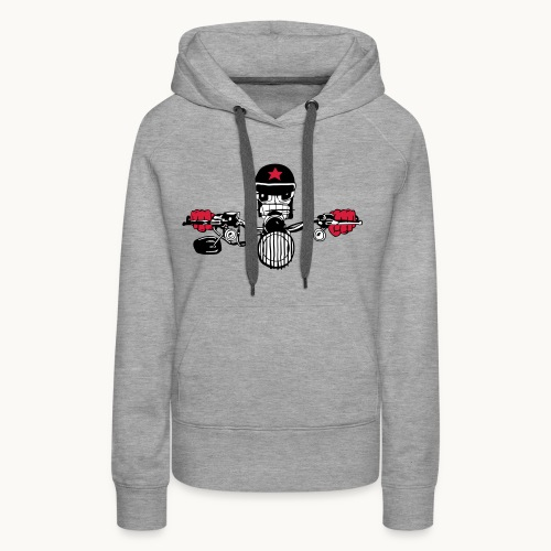 Motard Micky on the Road - Sweat-shirt à capuche Premium pour femmes