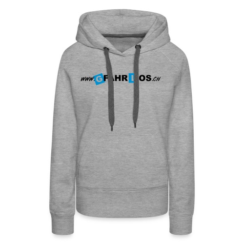 gfahrlos Webadresse ohne - Frauen Premium Hoodie
