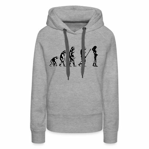 EVOLUTION - Sweat-shirt à capuche Premium pour femmes