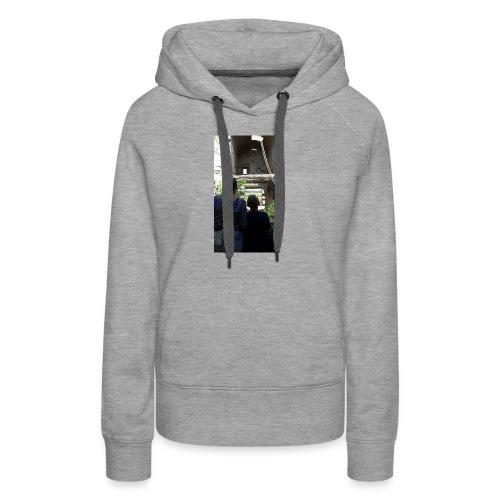 Hoesje van mij en emma - Vrouwen Premium hoodie