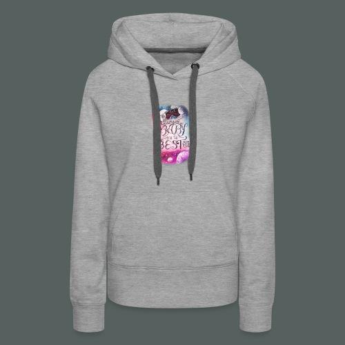 galaxie baby - Sweat-shirt à capuche Premium pour femmes