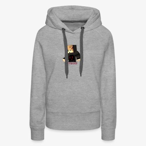 CraxxliMerch - Frauen Premium Hoodie