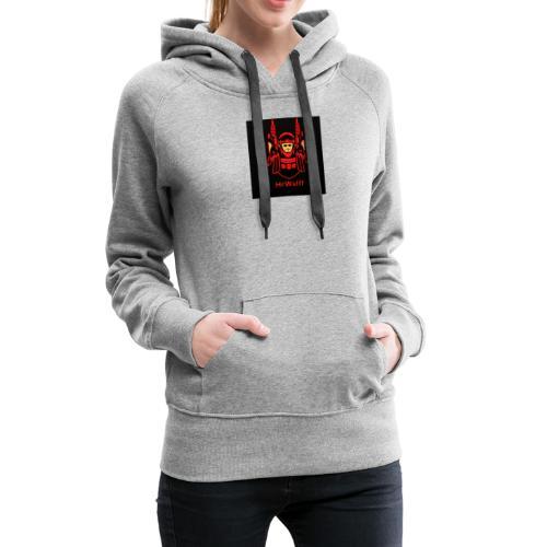 HrWulff Gaming Logo - Dame Premium hættetrøje
