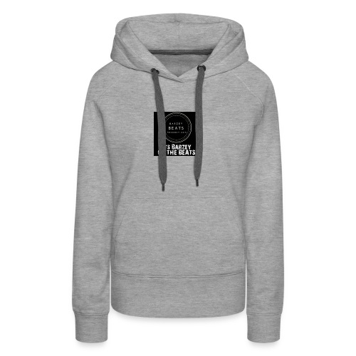 Its Barzey on the beats - Women's Premium Hoodie