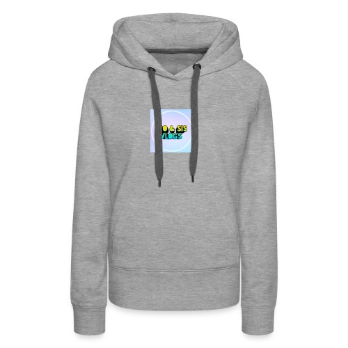 Bro & sis vlogs merch - Women's Premium Hoodie