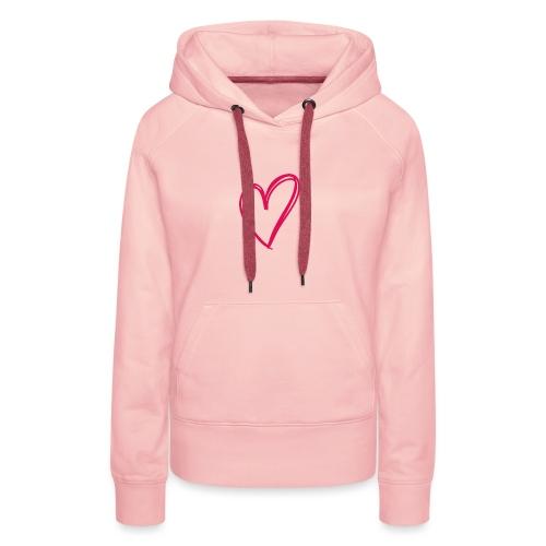 hartje03 - Sweat-shirt à capuche Premium pour femmes