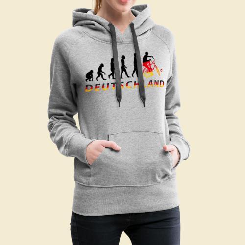 Radball   Evolution Deutschland - Frauen Premium Hoodie