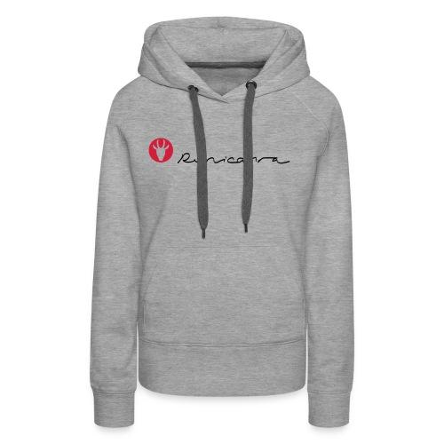 logo mittel - Frauen Premium Hoodie