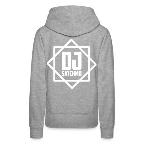 DJ Satchmo Merchandise - Sweat-shirt à capuche Premium pour femmes