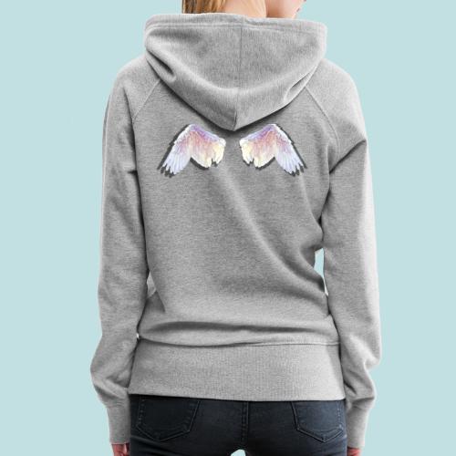 angel wings - Women's Premium Hoodie