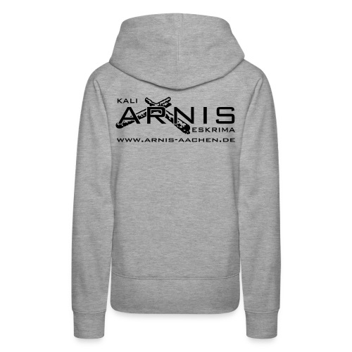 arnis logo plot - Frauen Premium Hoodie