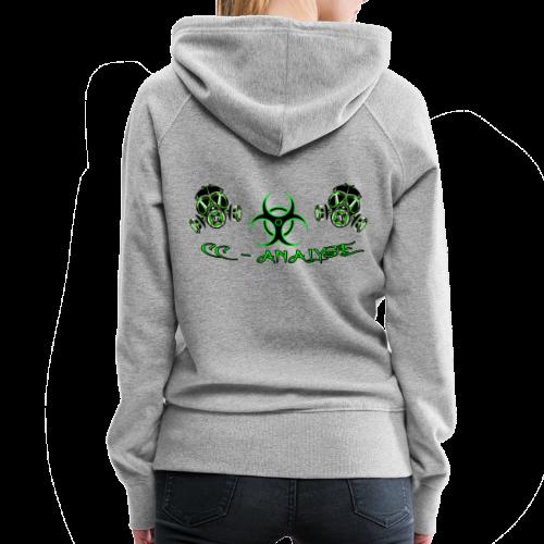 CC-Analyse - Frauen Premium Hoodie