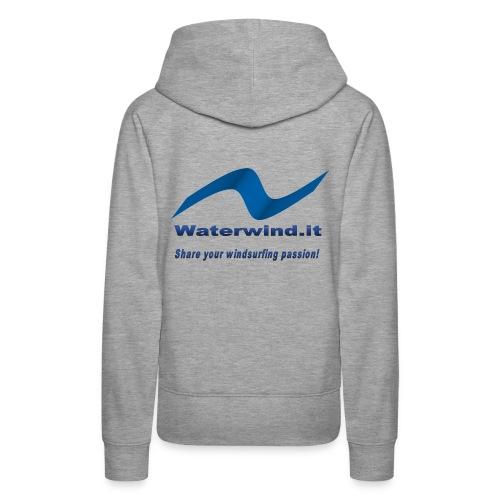 logo waterwind lycra magliette no sfondo png - Women's Premium Hoodie