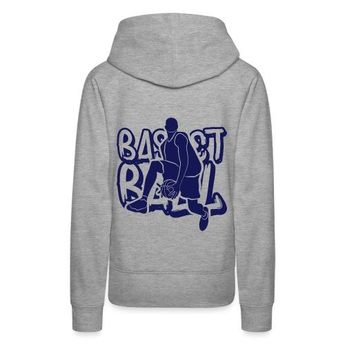 BASKETBALL TAG H - Sweat-shirt à capuche Premium pour femmes