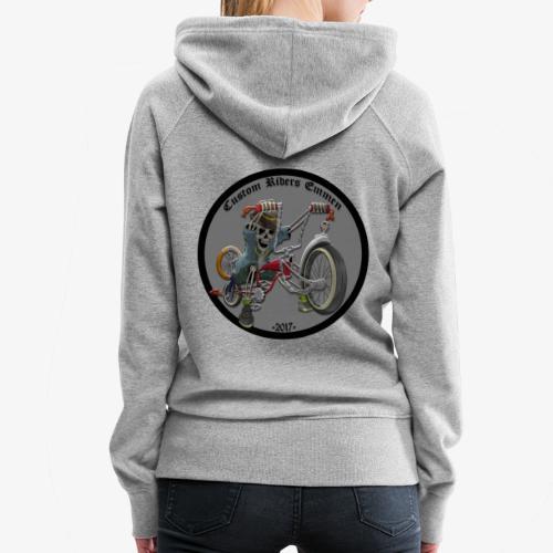 Custom Riders Emmen - Vrouwen Premium hoodie